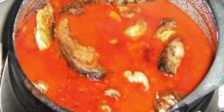 Bajai halászlé Emese konyhájából