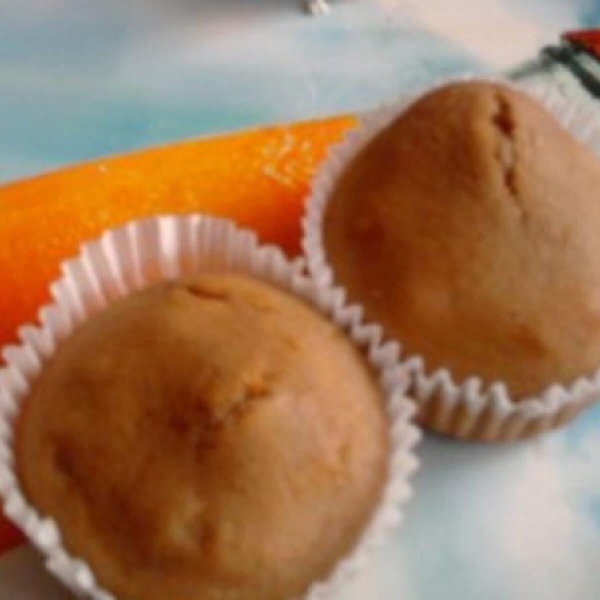 Ezen a képen: Körtés-kakaós muffin