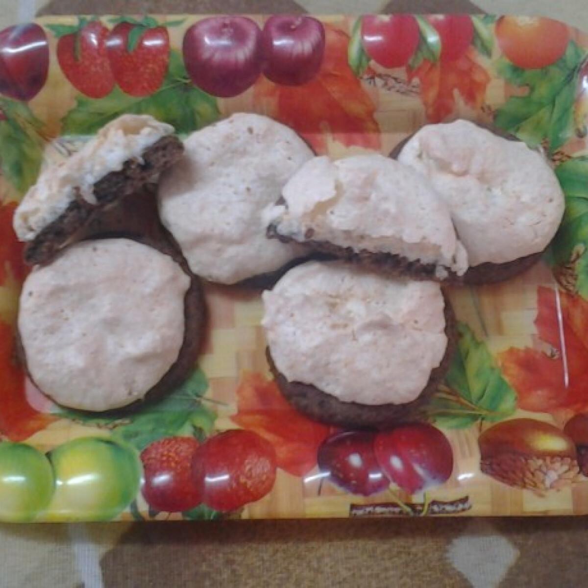 Kakaós kókuszos süti