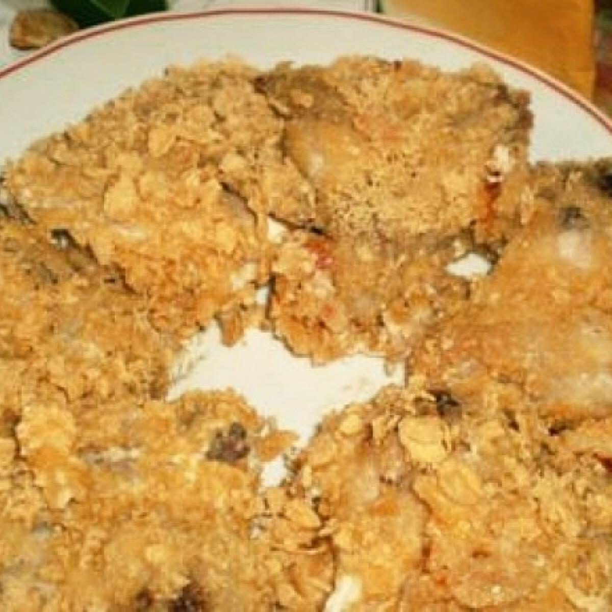 Ezen a képen: Corn flakes-es csirkeszárny