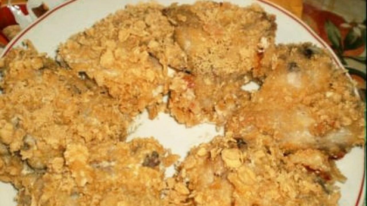 Corn flakes-es csirkeszárny