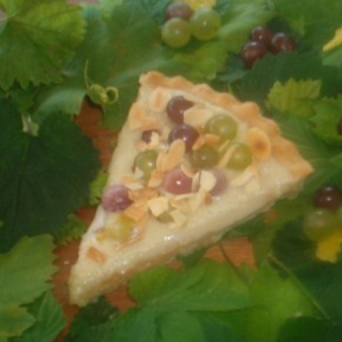 Ezen a képen: Szőlős lepény borkrémmel