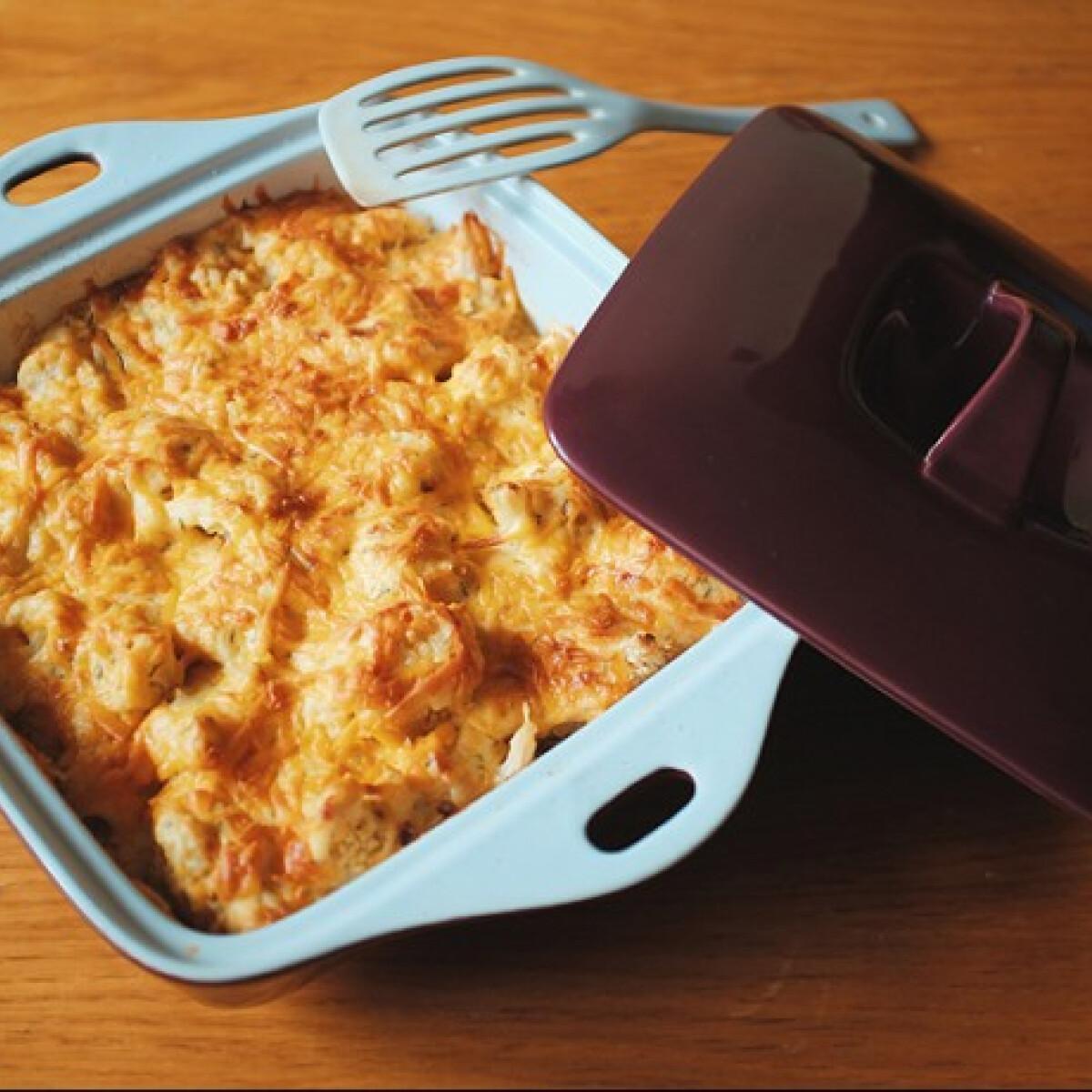 Cheddar sajtos karfiol