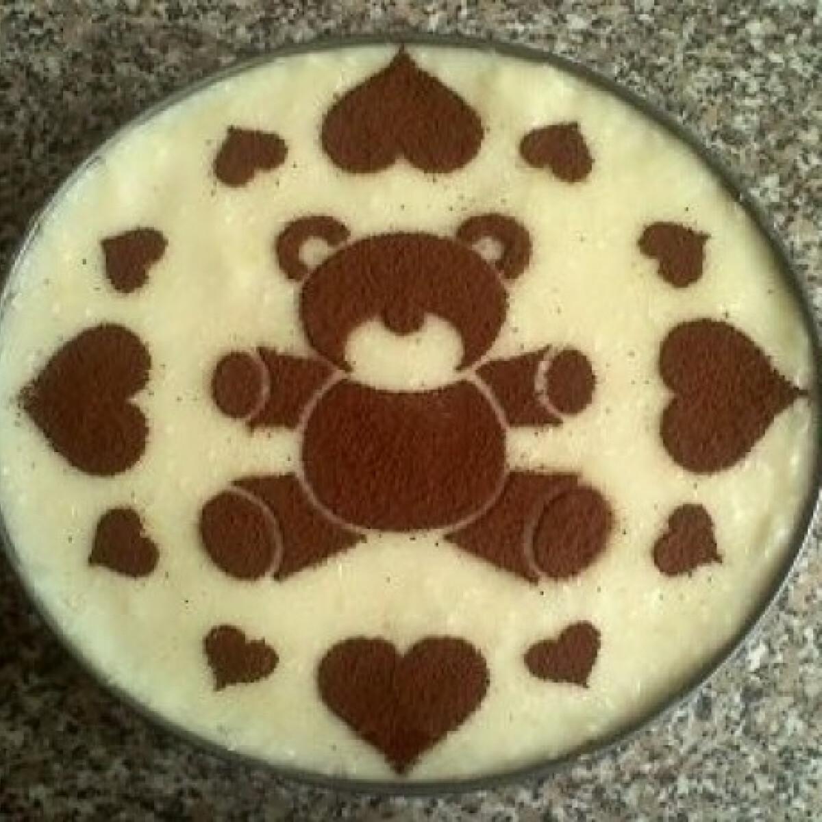 Ezen a képen: Pudingos torta