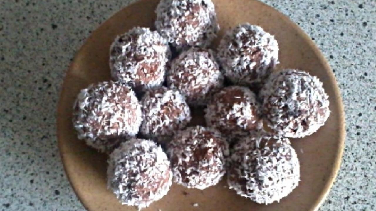 Kókuszgolyó diétásan Bernadett konyhájából