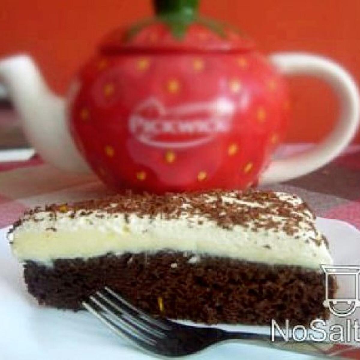 Ezen a képen: Narancsos mascarpone torta
