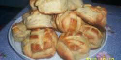 Padlizsánkrémes pogácsa