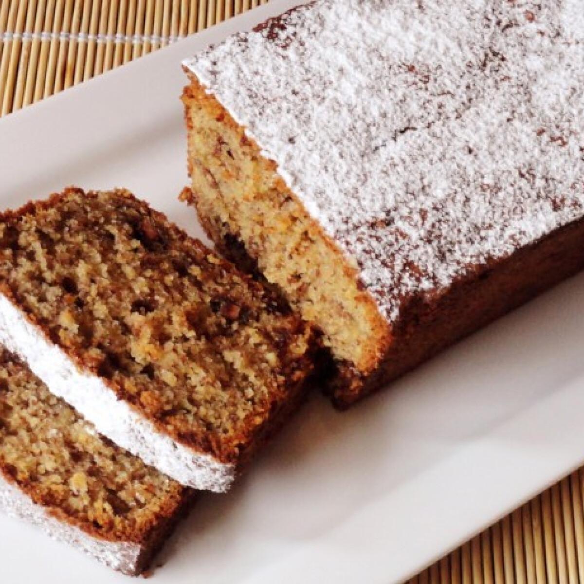 Csokoládés mogyorós sütemény
