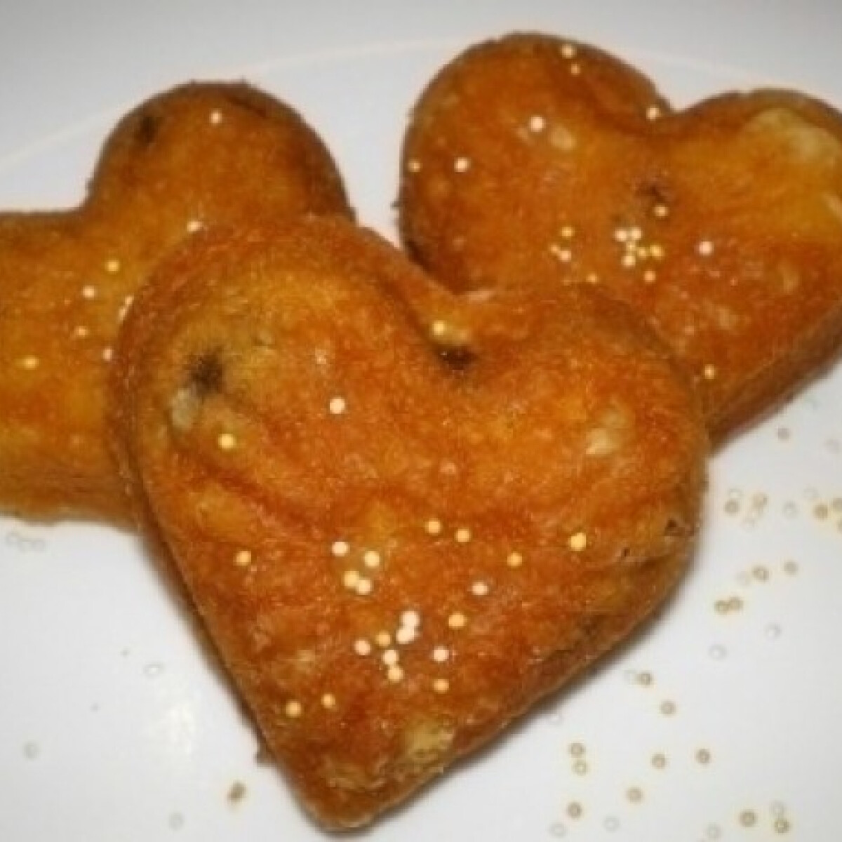 Ezen a képen: Valentin napi muffin (Legegyszerűbb muffin 3.)