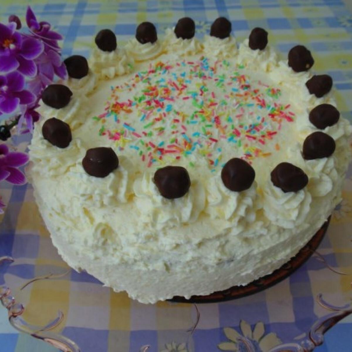 Ezen a képen: Raffaello torta Lizinka konyhájából