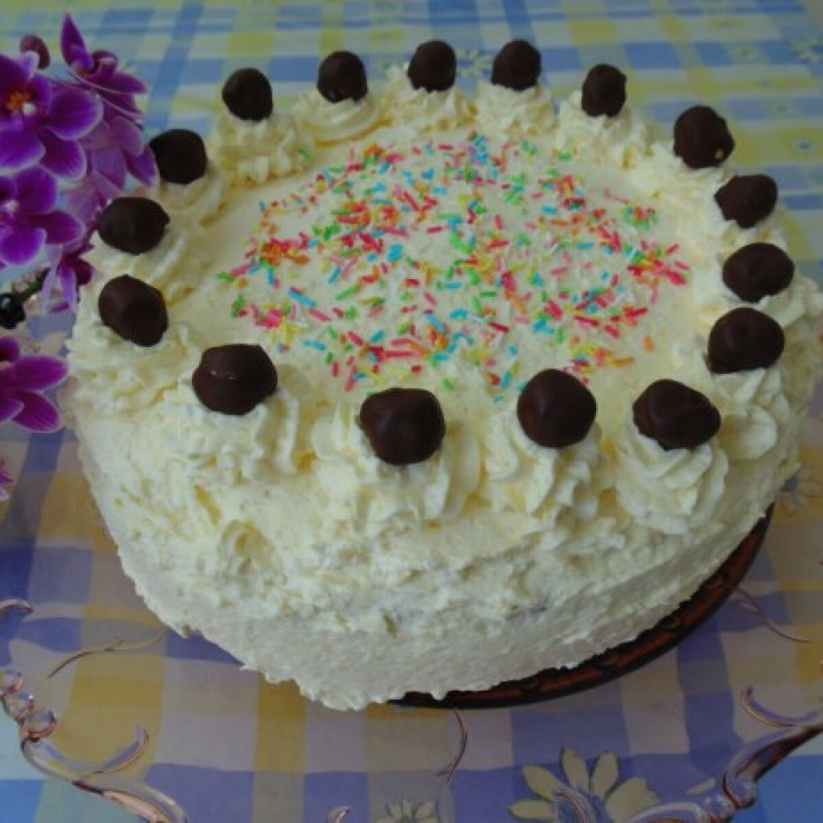 Raffaello torta Lizinka konyhájából