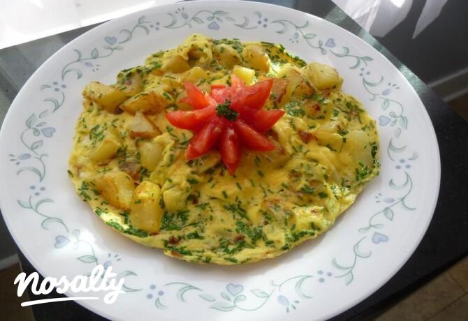Ezen a képen: Tojásos krumpli, ahogy én szeretem
