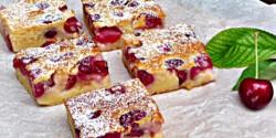 Cseresznyés pite Gizi konyhájából