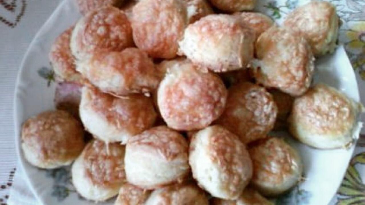 Túrós-sajtos pogácsa Gonoszka konyhájából
