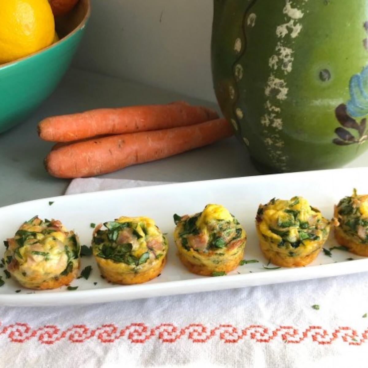 Ezen a képen: Tavaszi répás muffin