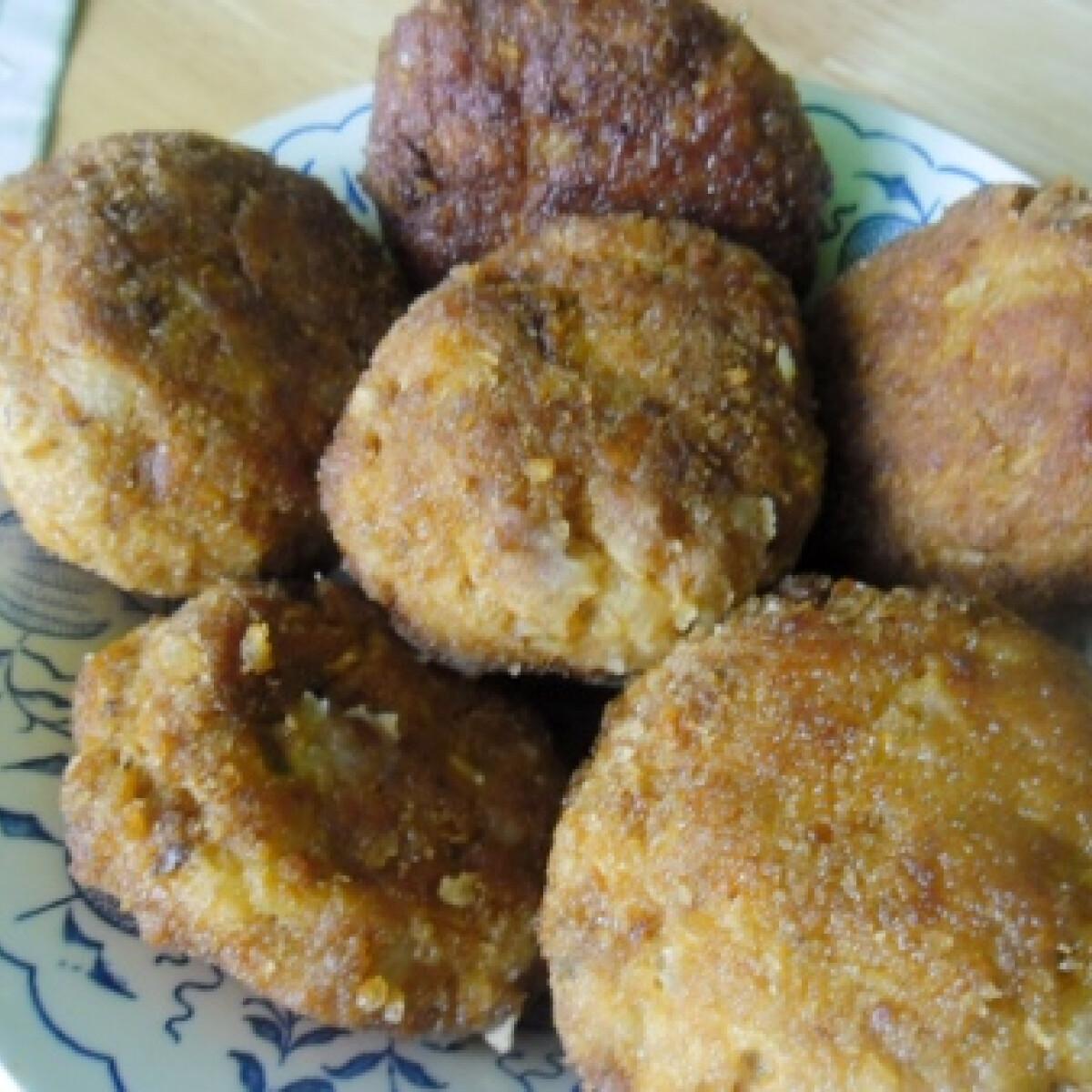 Ezen a képen: Krumplis fasírt ahogy helena készíti
