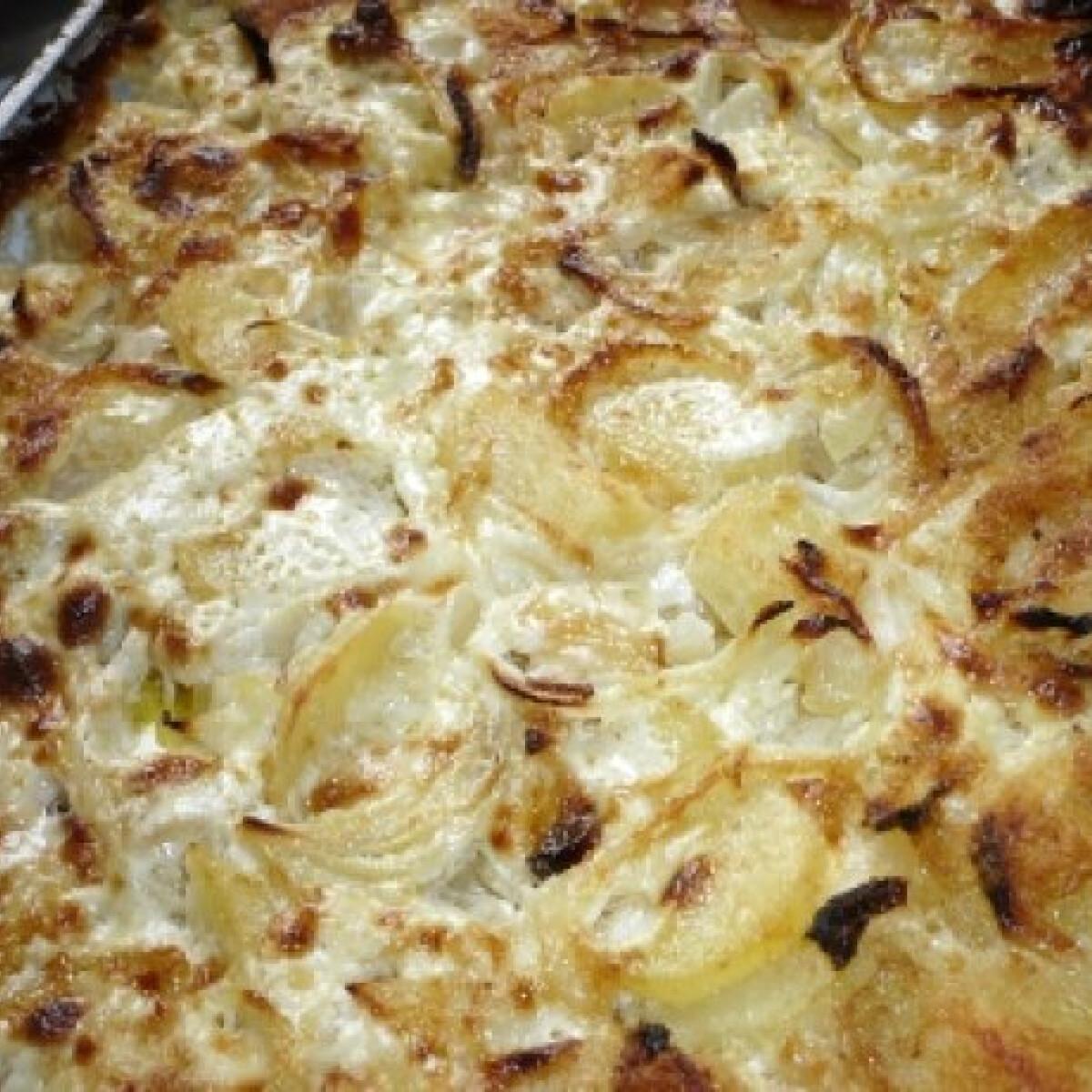 Ezen a képen: Jansson megkísértése - szardellás krumpli
