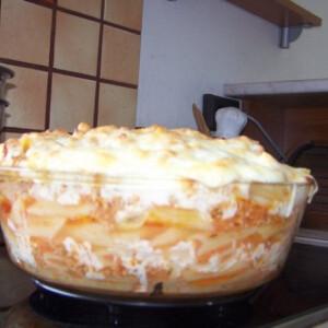 Gyömbéres rakott tészta