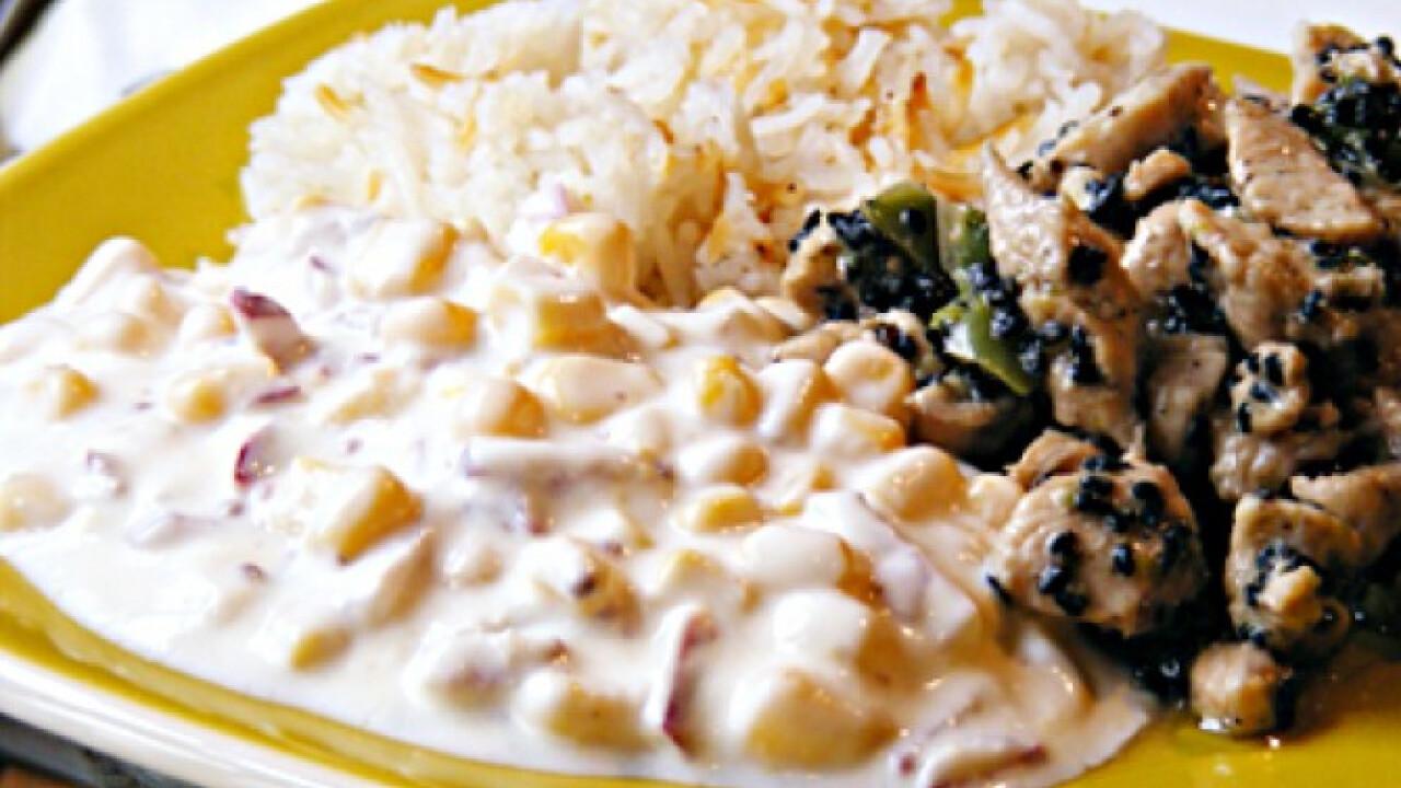 Joghurtos kukoricasaláta