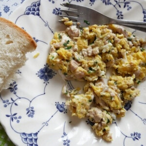 Velő tojással