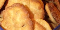 Citromos vajas keksz kevés mosogatnivalóval