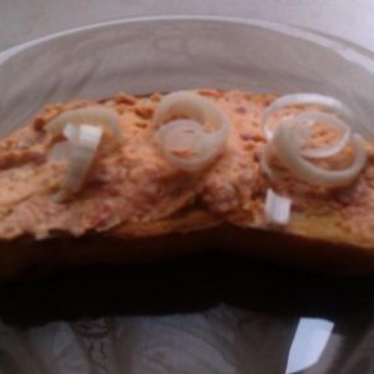 Ezen a képen: Húsvéti kolbászkrém Giovanna konyhájából