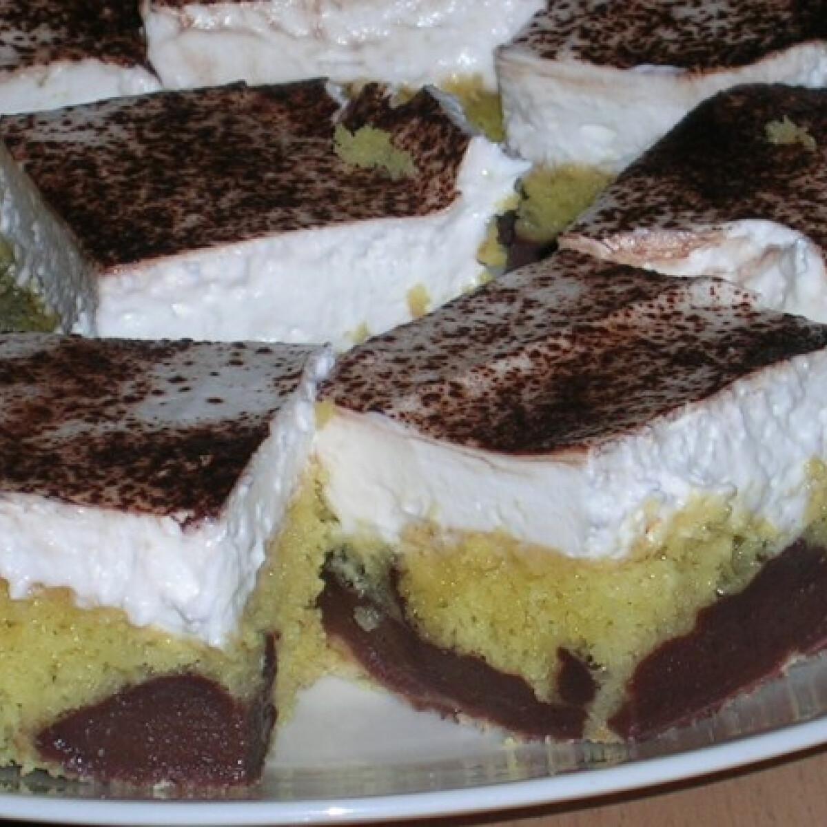 Ezen a képen: Üdítő pudingos desszert