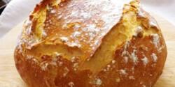 Dagasztás nélküli kenyér Évi nénitől