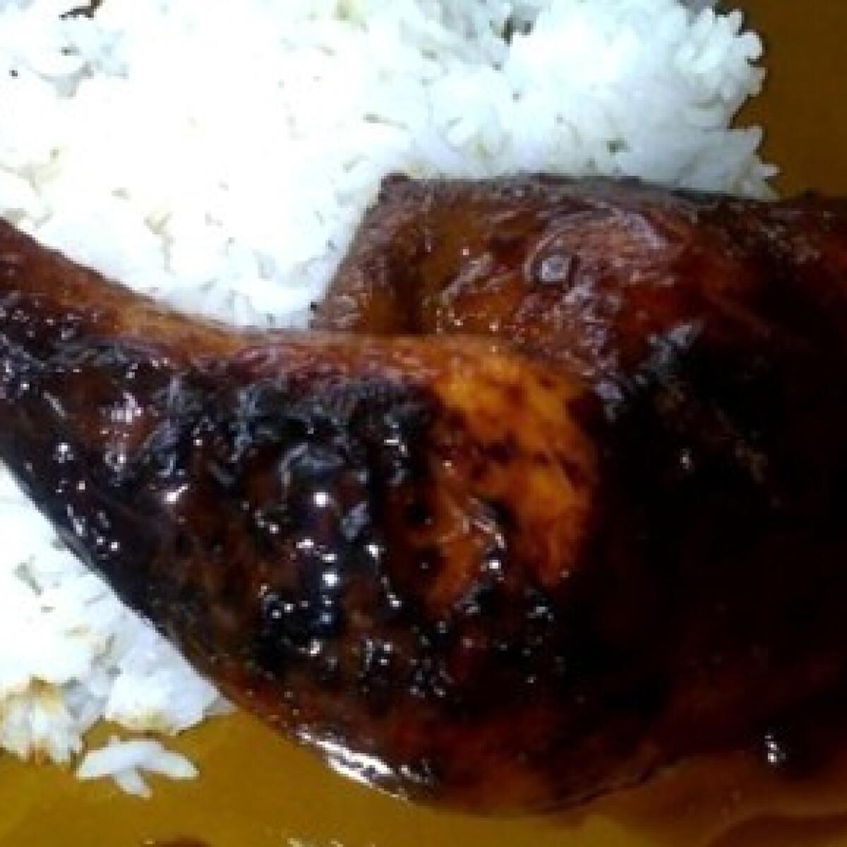 Ezen a képen: Ázsiai halszószos csirke