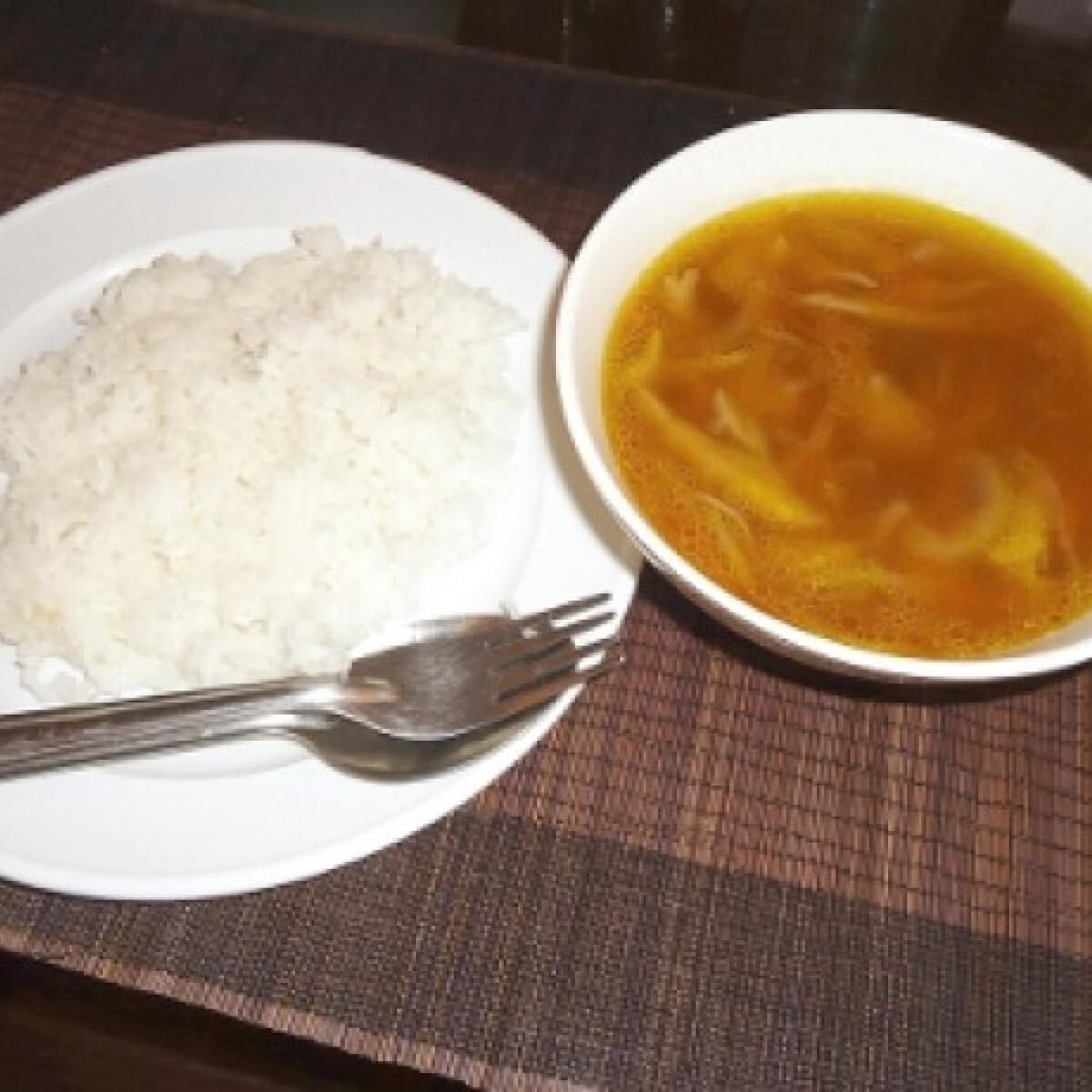 Khmer házi leves