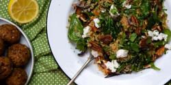 Sütőtökös-kecskesajtos quinoasaláta