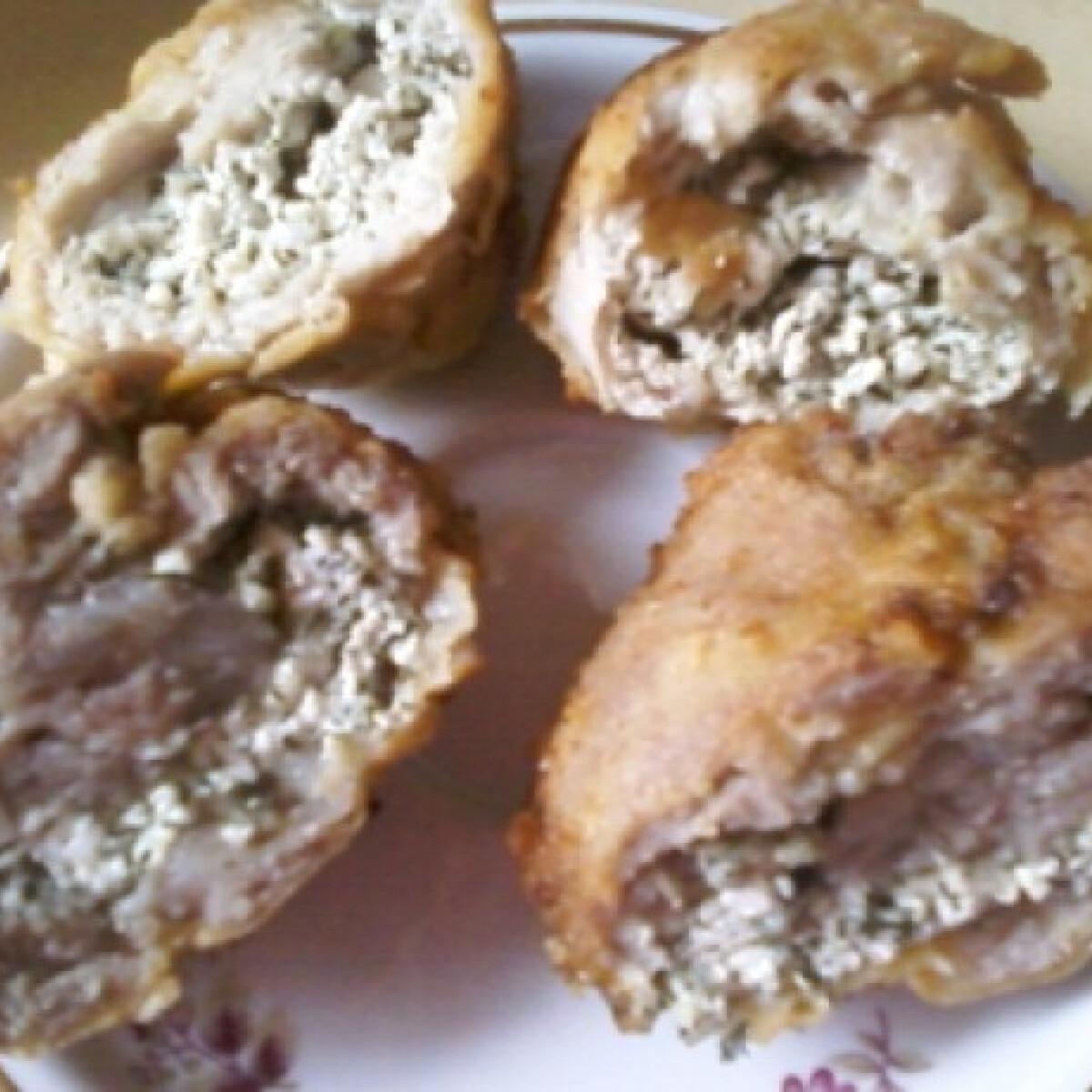 Ezen a képen: Kapros-túrós karaj gluténmentesen