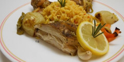 Ízletes sült csirke hobbi séf módra