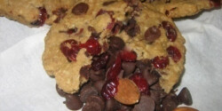 Vörösáfonyás cookie 2. -csokis