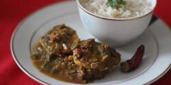 Indiai tojás curry