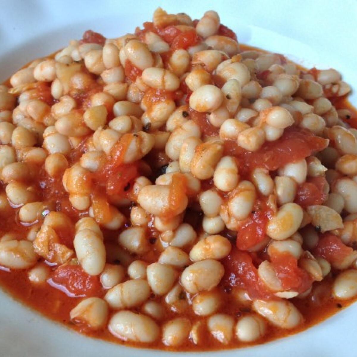 Olaszos főtt bab