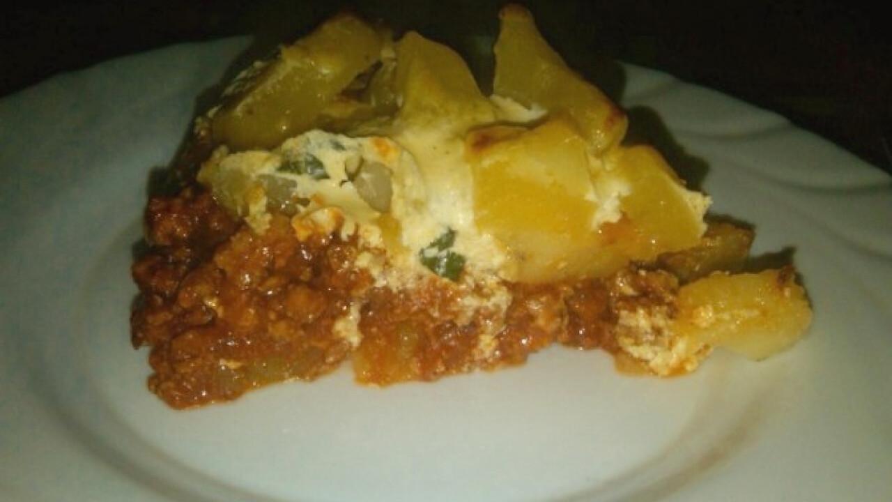 Bolognai rakott krumpli Etu konyhájából