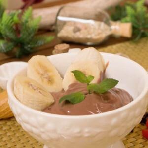 Cukormentes csokis krémfagylalt tofuból