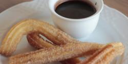 Churros chilis forró csokival