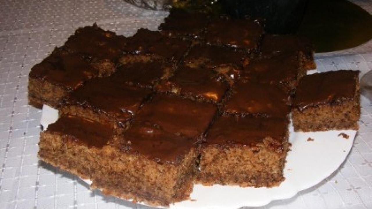 Diós kevert sütemény