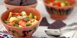 Lazacos-mangós ceviche
