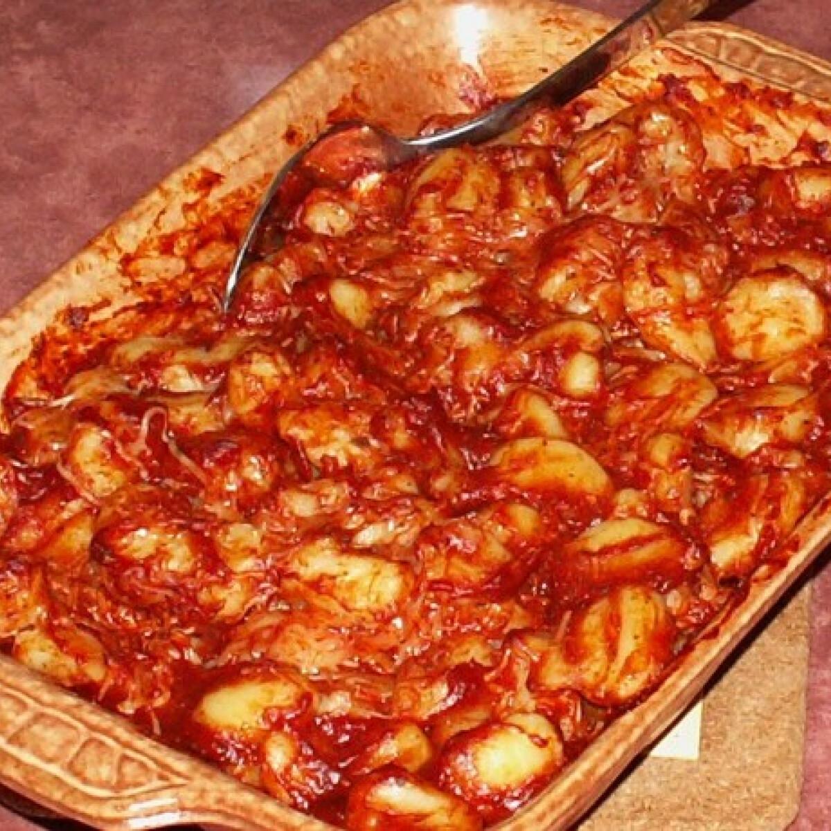 Ezen a képen: Paradicsomos gnocchi
