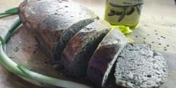 Házi magos-hagymás barnakenyér