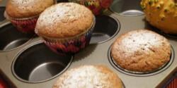 Mogyorós-sütőtökös muffin