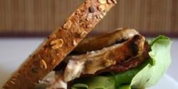 Csirkés szendvics 2. - gombás-tarjás