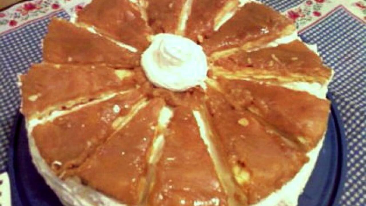 Franciakrémes torta Gonoszka konyhájából