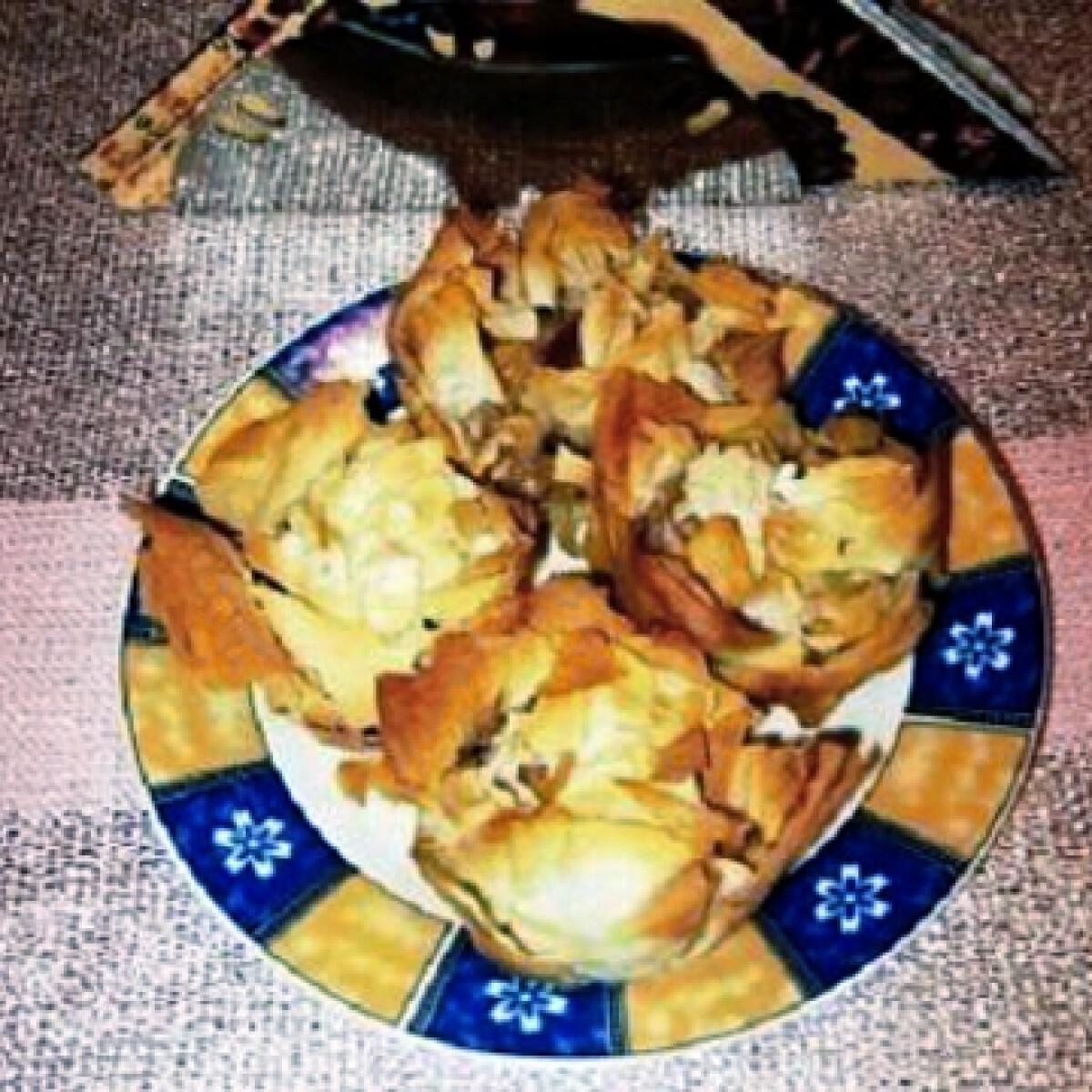 Ezen a képen: Almás réteskosárkák