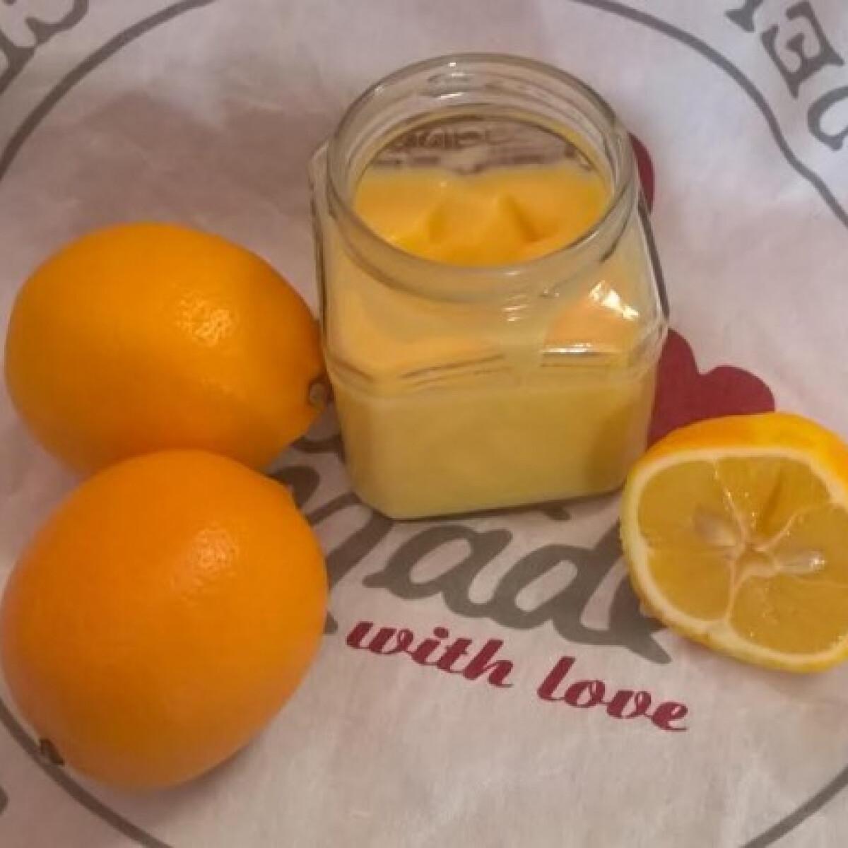 Ezen a képen: Meyer citromkrém