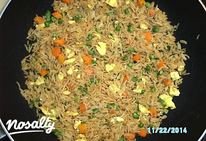 Ezen a képen: Sült rizs Citrom konyhájából