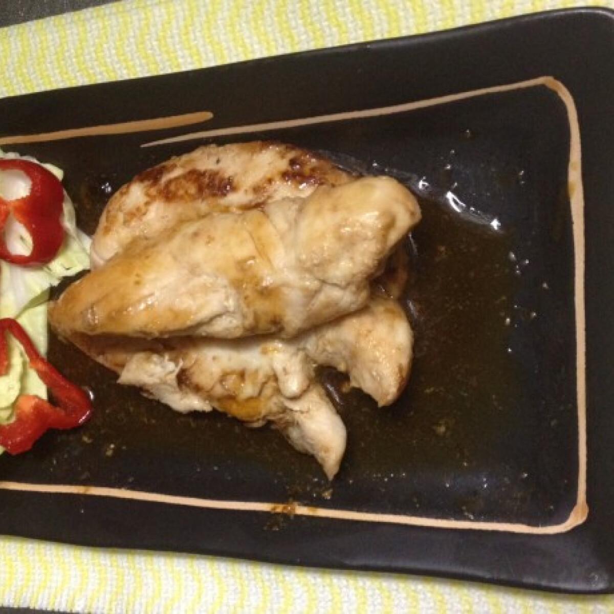 Ínyenc csirkemell japán módra